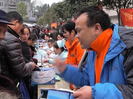 """鹤城区:""""春风行动""""已提供近4万个岗位促4千余人就业"""