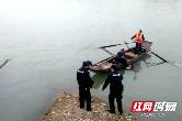 视频丨73岁老人落水 澧县警民合力营救