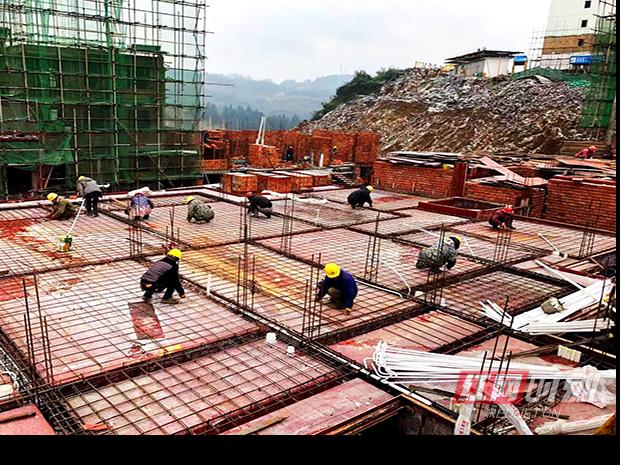 永顺县全力易地扶贫搬迁岔那安置点加快建设步伐