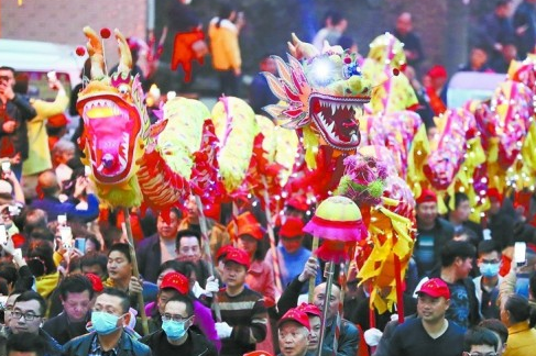 Huodeng Festival Celebrated in Hengyang
