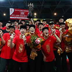 北京女排3-1胜天津女排 总比分3-0首夺职业联赛总冠军