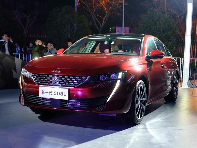 标致新一代508L上市 换8AT变速箱XX万起售-图1
