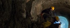 地表深处——井下喷浆作业
