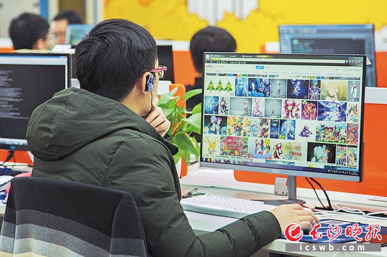 ←动漫产业是移动互联网产业的重要组成部分。近年来长沙动漫产业发展迅速。  资料图片