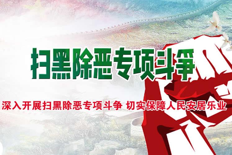 亚洲城娱乐手机登录入口扫黑除恶专项斗争