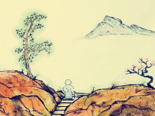 哲理漫画:山不过来我就过去