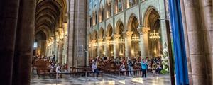 巴黎圣母院遭大火 湖南摄影师旧照痛心缅怀