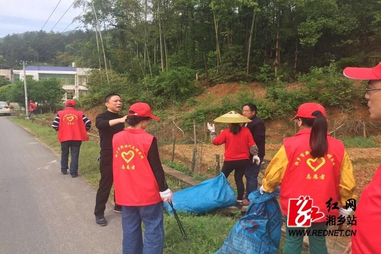 整治办:湘乡市农村人居环境整治火热进行时