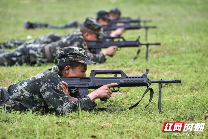 武警张家界支队组织勤训轮换提高战斗力