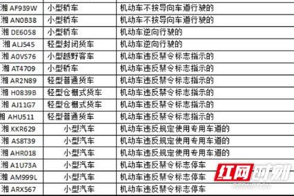 集中整治!湖南交警曝光一批交通违法车辆和事故案例