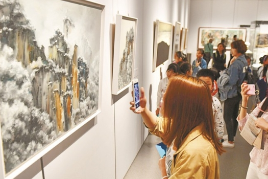 Urban Art Exhibition Opened in Changsha