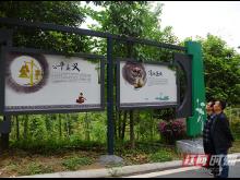 溪州新城精心打造廉政人防文化主题公园