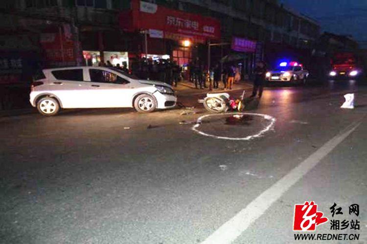 公安局:男子无证驾驶交通肇事逃逸 24小时后归案