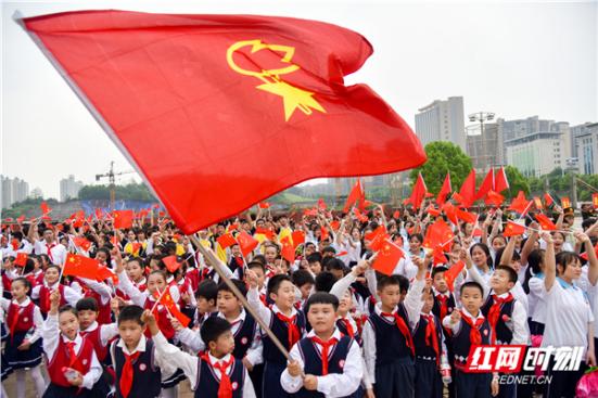 纪念五四运动100周年丨一首歌 一把火炬 一群桂阳好青年