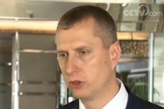 """白俄罗斯经济部长:开放绿色理念 促""""一带一路""""高质量发展"""
