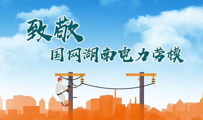 专题 致敬国网湖南电力劳模
