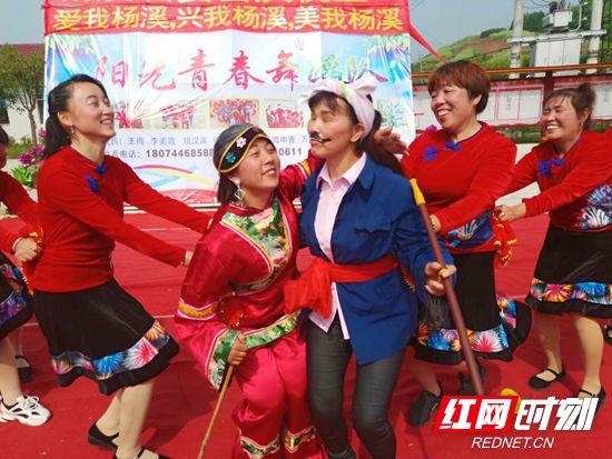 """【乐游张家界】慈利县杨柳铺:农民爱上""""五一""""节"""