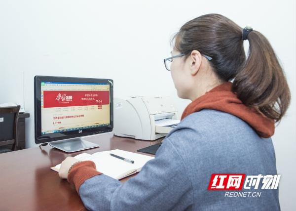 """湖南科技学院:""""学习强国""""成为校园新""""网红"""""""