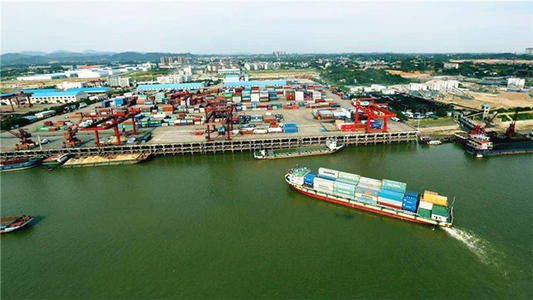 前4月长沙进出口总值503.3亿元 同比增长58.2%