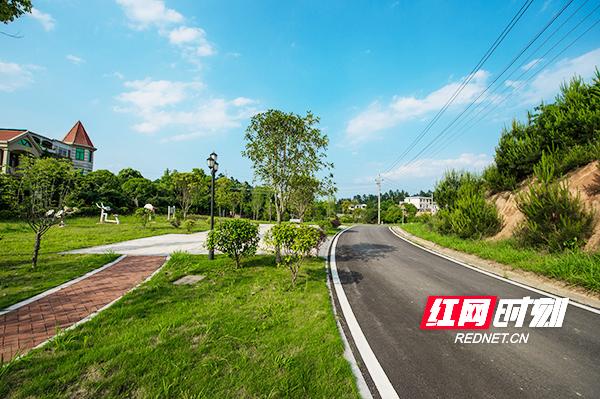 开慧镇乡村间,沥青路修到了家门口(图片来源-华声在线).jpg