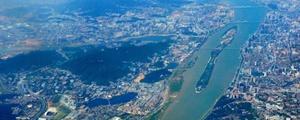 不得了!一张照片拍下湘江长沙段七座桥