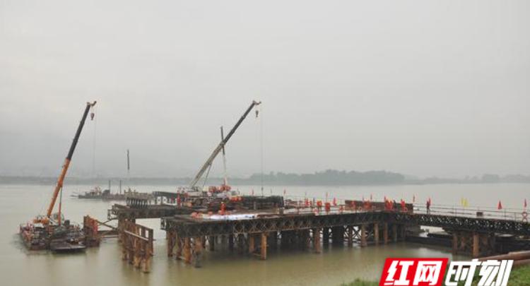 常德张公庙澧水特大桥工程开工