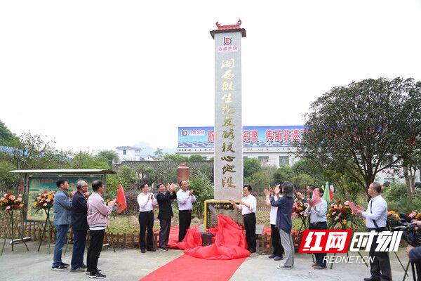 吉首大学举行湘西微生物发酵核心地段揭牌仪式