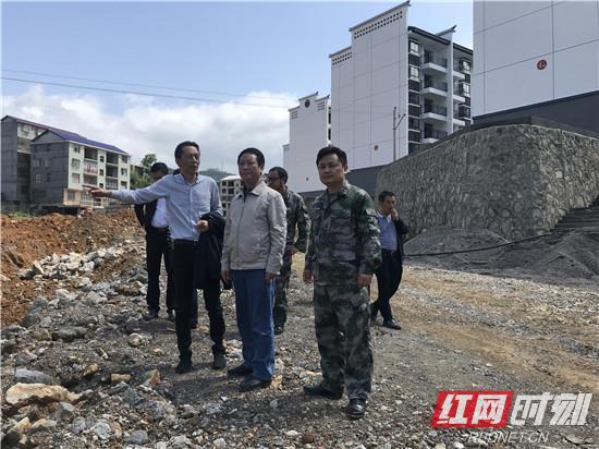 桑植:熊正元到龙潭坪镇调研脱贫攻坚工作