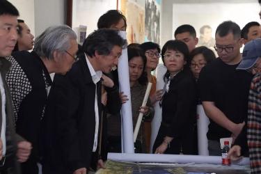 第十三届全国美术作品展览中国美协专家组赴湖南观摩指导工作会