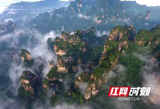 """张家界市武陵源区入榜""""2019中国最美县域榜单"""""""