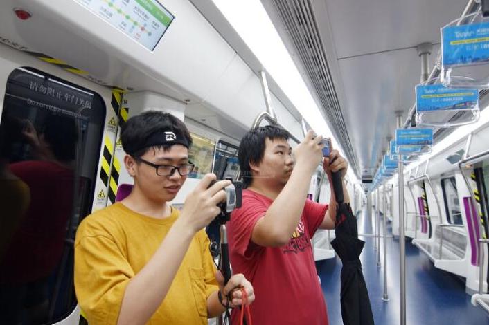 Changsha Metro Line 4 Starts Passenger Test Runs