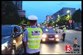 公安局:高考前夜查酒驾8起 全力净化交通环境