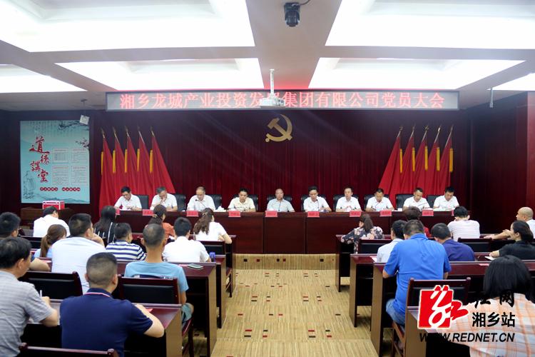 产业集团召开党员大会 选举产生委员会