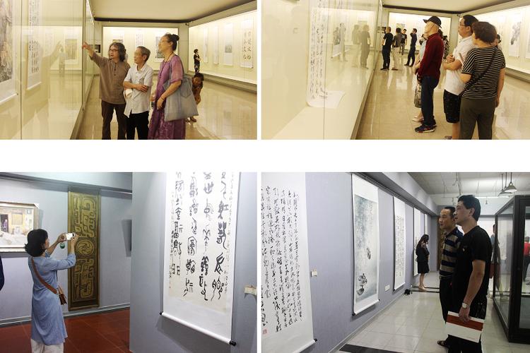 """去博物馆看展去!湘乡""""文化和自然遗产日""""书画展开展"""