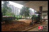 """城管局:镇湘景观桥下""""提质增靓""""进行时"""