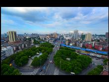 岳陽樓區域經濟穩健發展