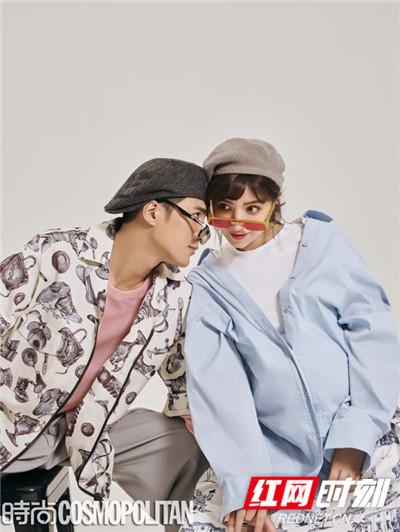 红网时刻6月14日讯(记者 胡弋),姜潮偕妻子麦迪娜拍摄的时尚大片曝光。