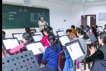 学习不再只是年轻人的事 湘潭老年人学习渠道多