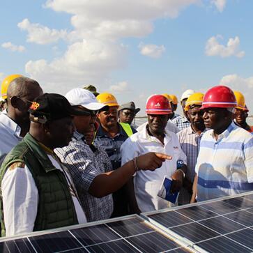 新建电站满足肯尼亚35万人用电需求