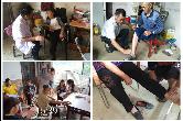 毛田镇:开展老年人健康宣传义诊活动