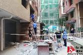 城管局:东山街道东林安置区一处违建被依法拆除
