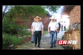 西湖区领导赴鼎兴村开展脱贫攻坚和乡村振兴调研