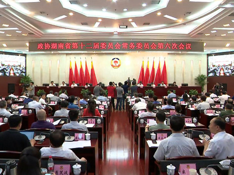 【全程回放】湖南省推进健康扶贫政策落实专题议政性常委会议