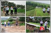 中沙镇:紧急调度防汛、防地质灾害工作