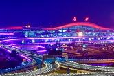 """黄花机场换上崭新""""霓裳""""迎四方来宾"""
