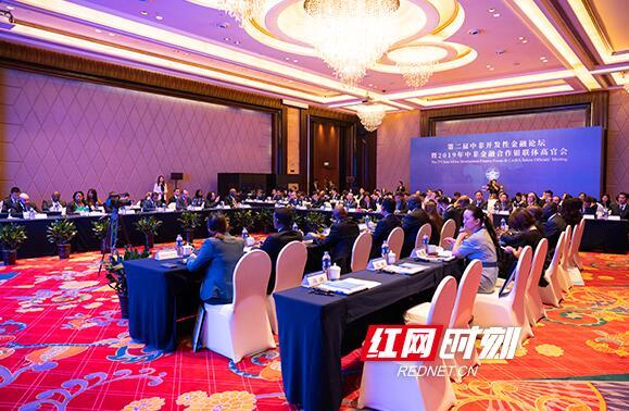 """""""2019年中非金融合作银联体高官会""""在长沙召开"""