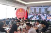 市工信局党员集中收看全市庆祝建党98周年表彰大会