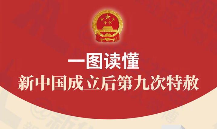 一图读懂丨新中国成立后第九次特赦