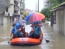 常德:两个半小时降雨133毫米 短时暴雨致城区多处积水