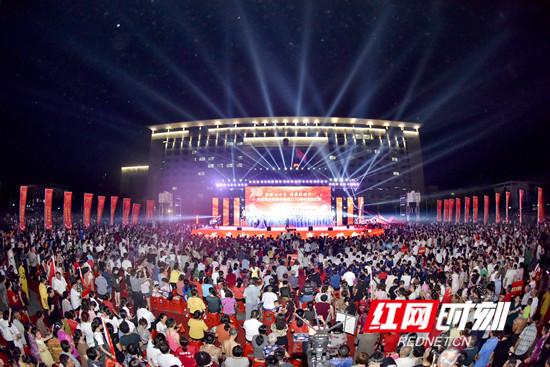壮丽七十年 讴歌新时代:永定区庆祝新中国成立70周年歌咏比赛激情开唱